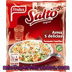 Findus Salto Original Arroz 3 Delicias Formato Familiar Bolsa 1 Kg