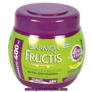 real mejor valorado sección especial super especiales Fructis mascarilla hidra-rizos cabello rizado u ondulado ...