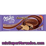 Galletas Chocowafer Milka 180 Gramos