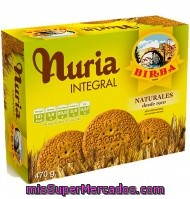 Galletas Nuria Integrales 470 Grs