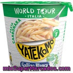 Gallina Blanca World Tour Italia Pasta Carbonara Vaso 101 Gr