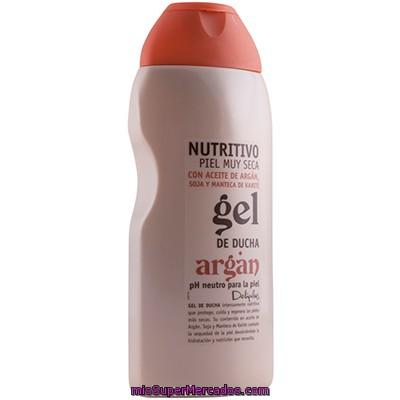 Gel ba o piel muy seca nutritivo aceite argan deliplus for Bano de color mercadona