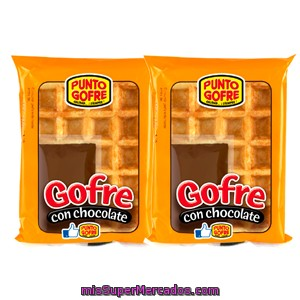 Gofre chocolate industrial punto gofre pack 2 x 140 g for Productos limpieza coche mercadona