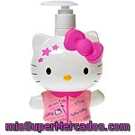 Hello-kitty Jabón De Manos Happy Love En 3d Dosificador 400 Ml