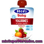 Hero Baby Yogurines Yogur Multifrutas Formato Bolsita Pouche 80 G