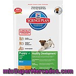 Hill's Science Plan Puppy Mini Healthy Development Nutrición Superior Para Cachorros De Raza Mini Con Pollo Bolsa 3 Kg