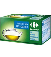 Infusión Mix Descanso Carrefour 20 Ud.
