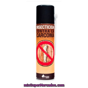 Insecticida  Spray Carcoma, Bosque Verde, Bote 250 Cc