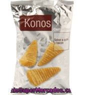Konos Con Sabor A Queso Y Bacon Carrefour 100 G.