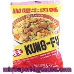 Kung-fu Fideos Sabor Curry Paquete 85 G