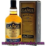Langs Whisky Premiun Escocés 12 Años Botella 70 Cl