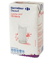 Leche Entera Carrefour Discount 1 L.