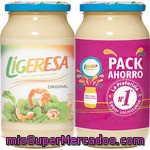 Ligeresa Salsa Fina Pack 2 Frasco 450 Ml