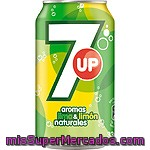 Lima Limon Con Gas, 7up, Lata 330 Cc