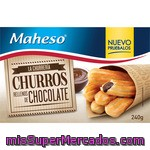 Maheso Churros Rellenos Chocolate 240g