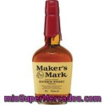 Maker's Mark Bourbon Whisky Americano Botella 70 Cl