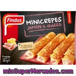 Mini Crepes De Jamón Y Queso Findus 250 G.