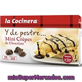 Minicrepes La Cocinera Chocolate 270 Grs