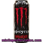 Monster Assault Energy Con Taurina Y Ginseng Lata 50 Cl
