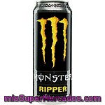 Monster Ripper Bebida Energética Con Taurina Y Ginseng Lata 50 Cl