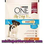 My Dog Is Baby Pollo&arroz Purina One, Paquete 800 G
