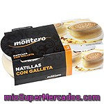 Natillas Con Galleta Montero Pack 2 Unidades De 125 Gramos