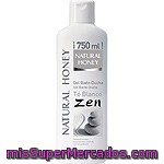 Natural Honey Gel De Baño Zen Té Blanco Bote 750 Ml
