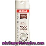 Natural Honey Loción Corporal Coco Addiction Hidratante De Aceite De Coco 100% Natural Frasco 330 Ml
