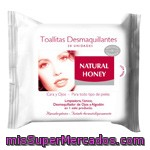 Natural Honey Toallitas Desmaquilladoras 20u