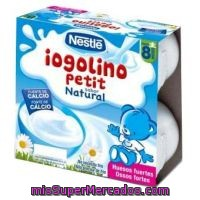 Nestle Bebe Yogur Natural Pack 4 Unidades 100 G