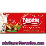 Nestle Extrafino Chocolate Con Leche Y Avellanas Tableta 150