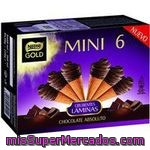 Nestle Gold Mini Cono De Helado De Chocolate 6 Unidades Estuche 360 Ml