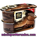 Nestle Gold Mousse Crujiente De Chocolate Pack 4 Unidades 57 G