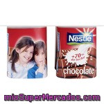 Nestlé Yogur Sabor Chocolate Pack 4 Unidades 125 G