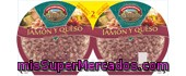 Pack Pizza             Tarradellas Jamon Y Queso 450 Grs