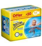 d0b40dd35 Comprar pañales bañador de 3 a 8 kilogramos huggies little swimmers ...