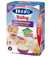 Papilla Instantánea Multicereales Hero Baby Natur 500 G.