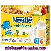 Papilla             Nestle Multifrutas 2 Briks De 250 Ml