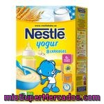 Papillas             Nestle 8 Cereales Con Yogur 600 Grs