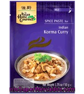 Pasta De Especia Para Korma Curry Asian Home Gourmet 50 G