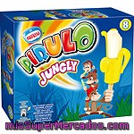 Pirulo Jungly Plátano Nestle, Pack 8x42 Ml