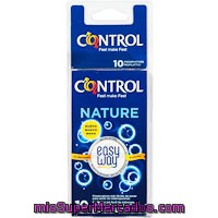 Preservativo Nature Easy Way Control, Caja 10 Unid.