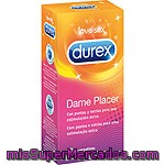 Preservativos Pleasuremax Easy On Durex 12 Unidades