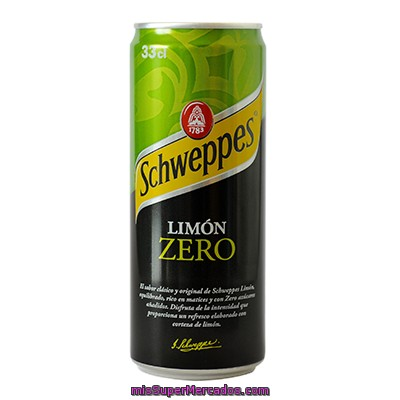 Refresco De Limón Light Spirit-schweppes 33 Cl.