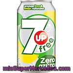 Refresco Lima-limón Light Seven Up Lata De 33 Centilítros