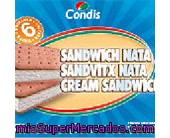 Sandwich             Condis Nata Pack 6 600 Ml