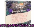 Servilleta Decorada De Doble Capa Foxy Happy Hour 50 Unidades