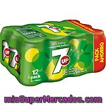 Seven Up Refresco Lima Limón Pack 12 Lata 33 Cl