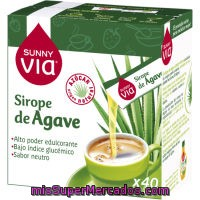 Sirope De Agave Sunny Via, Pack 40x5 G