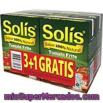 Solis Tomate Frito Solis Pack 3 Envases 350 G